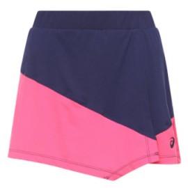 Asics Club W Skort Gonna Pantalone Blu/Fuxia Donna-Giuglar Shop