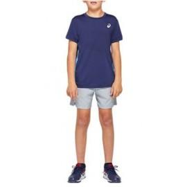 Asics Tennis Club B T-Shirt M/M Blu/Azzurra Junior Bimbo-Giuglar Shop