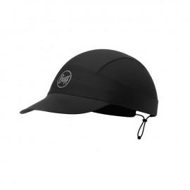 Buff Xl Pack Run Cap R-Solid Black Cappellino Ultralight Packable Ner - Giuglar Shop