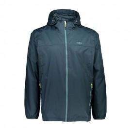 Cmp Man Fix Hood Rain Jacket Giacca Uomo - Giuglar Shop
