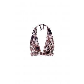 Effek Triangolo Alto Basic Leopardato Donna - Giuglar Shop