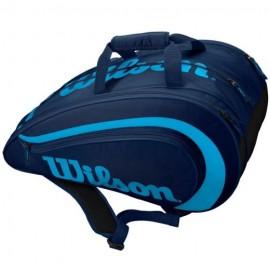 Wilson Rak Pak Navy/Bright Blue Borsone Padel - Giuglar Shop