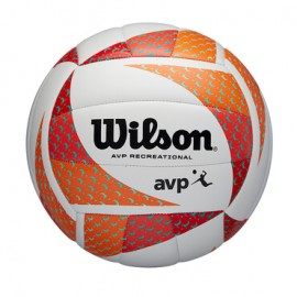 Wilson Avp Style Vb Orwh Pallone Beach Volley Bianco/Rosso/Arancio - Giuglar Shop