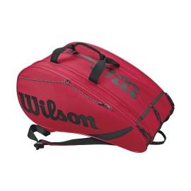 Wilson Rak Pack Rdbk Borsone Padel Rosso/Nero - Giuglar Shop