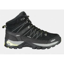 Cmp Rigel Mid Wmn Trekking Shoe Wp Nero-Lime Donna-Giuglar Shop