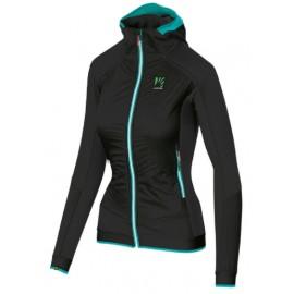 Karpos Alagna Pl Evo W Jacket Nero Profili Azzurro Donna-Giuglar Shop