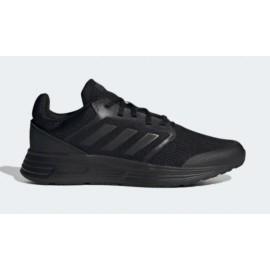 Adidas Galaxy 5 Scarpe Tela Nero/Nero Uomo-Giuglar Shop