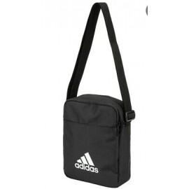 Adidas Cl Org Es Borsello Nero Logo Triangolo Bianco-Giuglar Shop