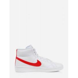 Nike Court Royale 2 Mid White/University Red Uomo - Giuglar Shop