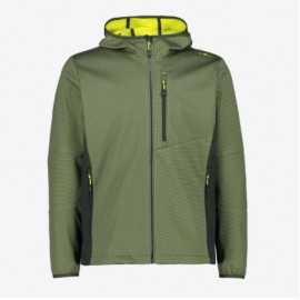 Cmp Man Jacket Fix Hood Softshell Uomo - Giuglar Shop