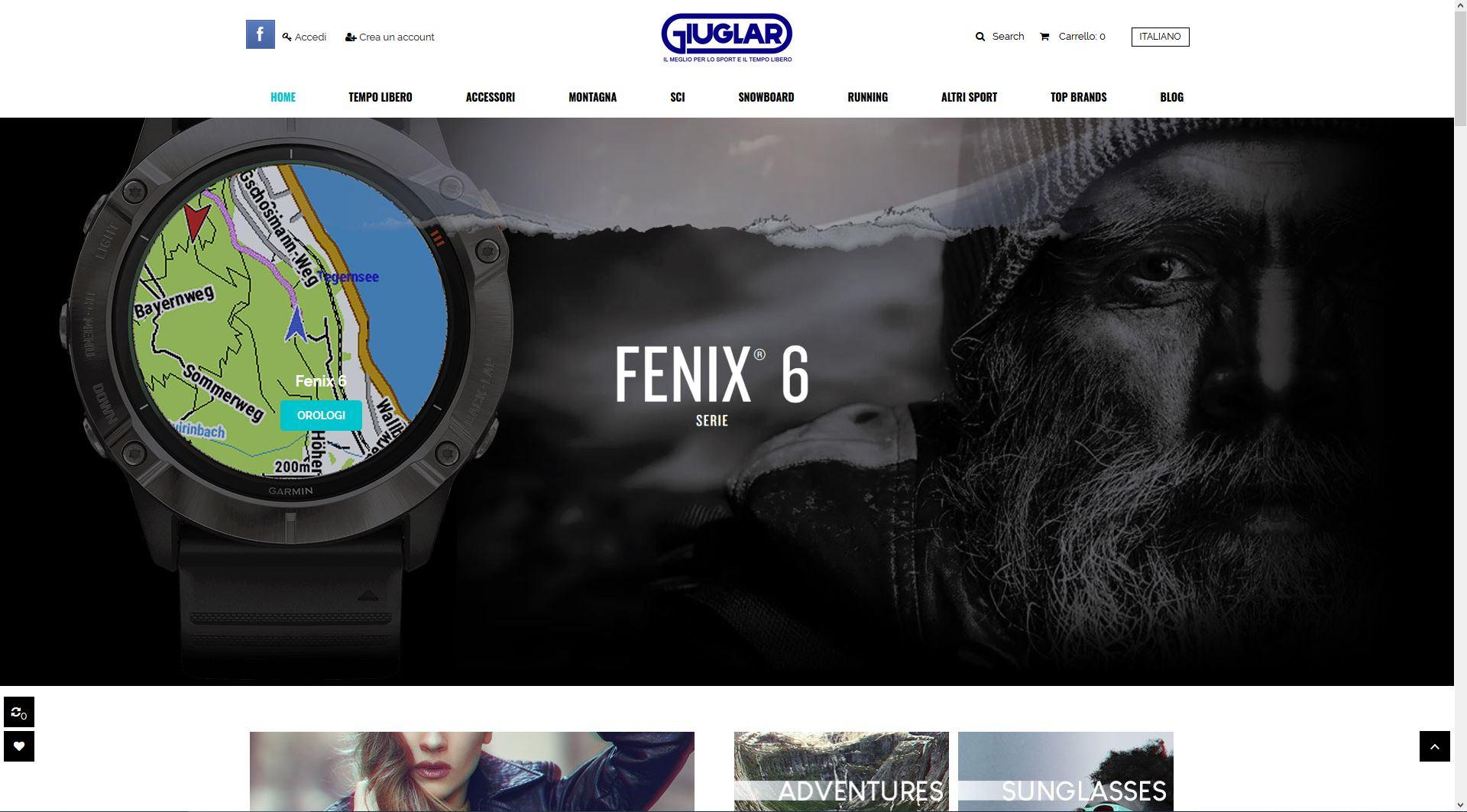 New ecommerce website