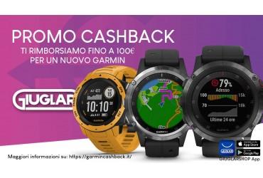 Promo Cashback: fino a 100 euro di sconto sul tuo nuovo Garmin!